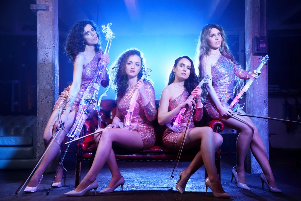 All-Female Electric Quartet The Corporate Quartet